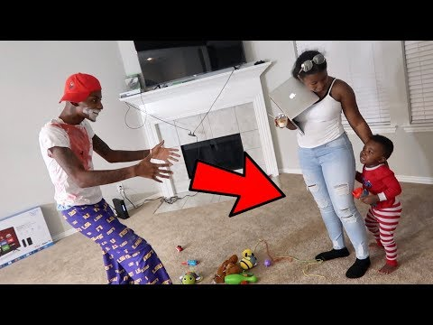 SCARE PRANK ON 2 YEAR OLD!!! FT. AR'MON AND TREY, FUNNYMIKE