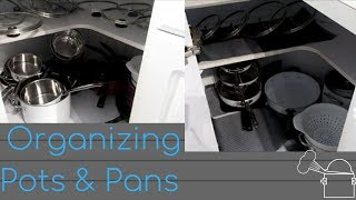 Inexpensive Way To Organize| Pots And Pans