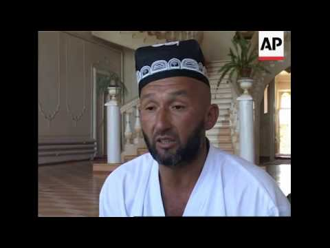 Recent pictures of Islamic leader arrested by Uzbek authorities