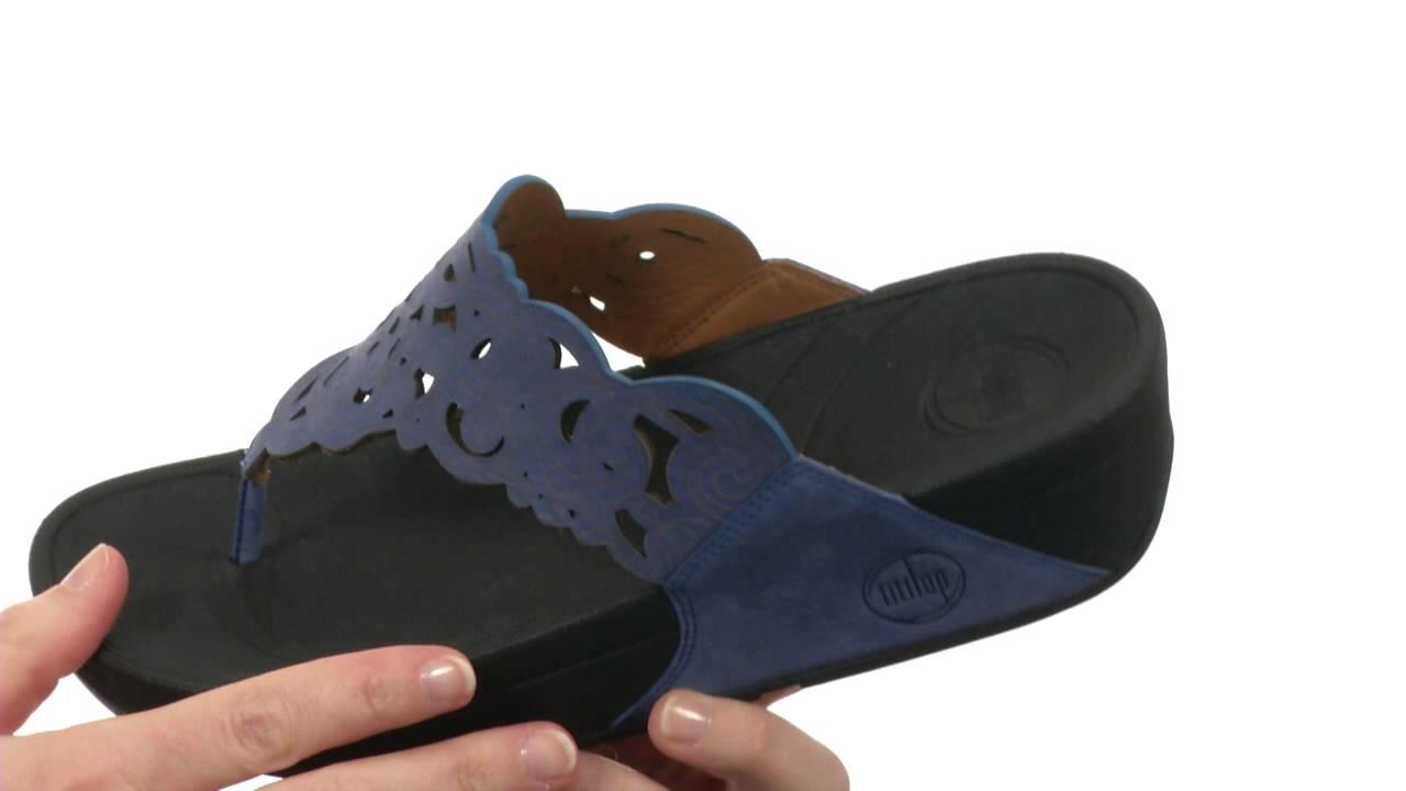 fitflop flora sandal black