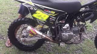 Download Video KNALPOT MOTOR BEBEK STANDAR 130CC GRASSTRACK || FANABE RACING EXHAUST MP3 3GP MP4