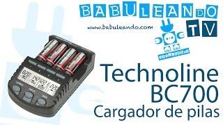 Technoline BC700 - Cargador de pilas