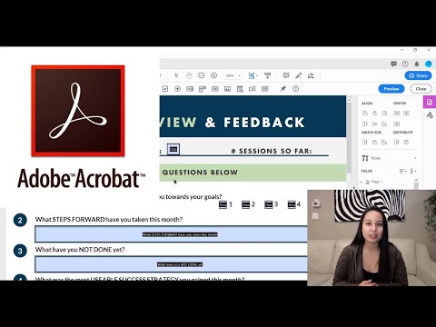 How To Make A PDF Fillable In Adobe Acrobat Pro DC: Automatically Makes It Fillable!