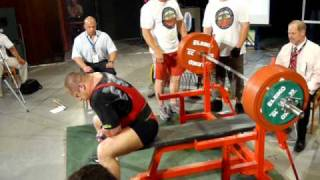 Laszlo Meszarosz 345 kg - 2.attempt No lift