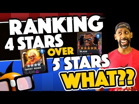 Ranking 4 Stars Instead of Five Stars WHAT?? [Marvel Contest of Champions]