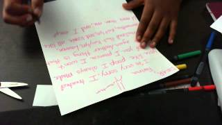 Friend a to sorry to How write letter a