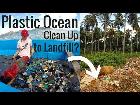 PLASTIC OCEAN POLLUTION | Comoros Beach Clean Up