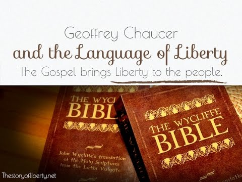 ‎Geoffrey Chaucer and the Language of Liberty