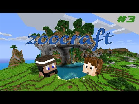 zoocraftS2e3 Underground farms, potion room and flying ship!