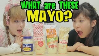 AMERICA vs 3 JAPANESE MAYO Flavors - What strikes your flavor?