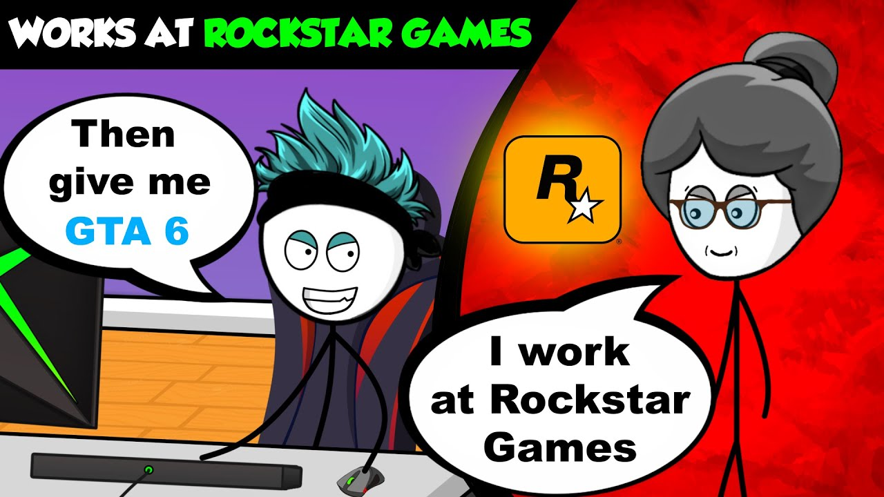 What if your Grandma works at Rockstar Games