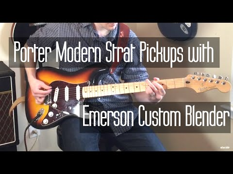 hqdefault porter pickups modern strat with emerson custom blender youtube Stratocaster Wiring Diagram with 5-Way Switch at bayanpartner.co