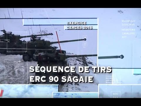 [Exercice CERCES] Tirs ERC90 Sagaie