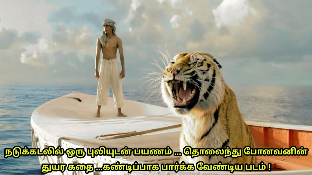 Life Of Pi (2012) Movie Explained in tamil | Mr Hollywood | தமிழ் விளக்கம்