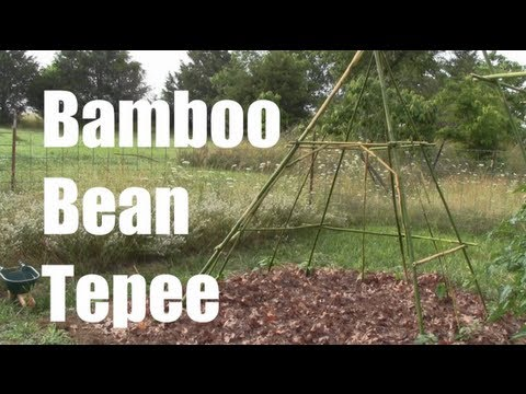 youtube how to build a teepee