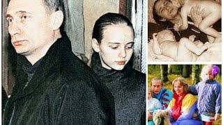 Дочери Путина В.В. Daughter Of Putin. Архивные материалы.