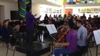 Ensayo Orquesta Sinfónica del Estado Nueva Esparta