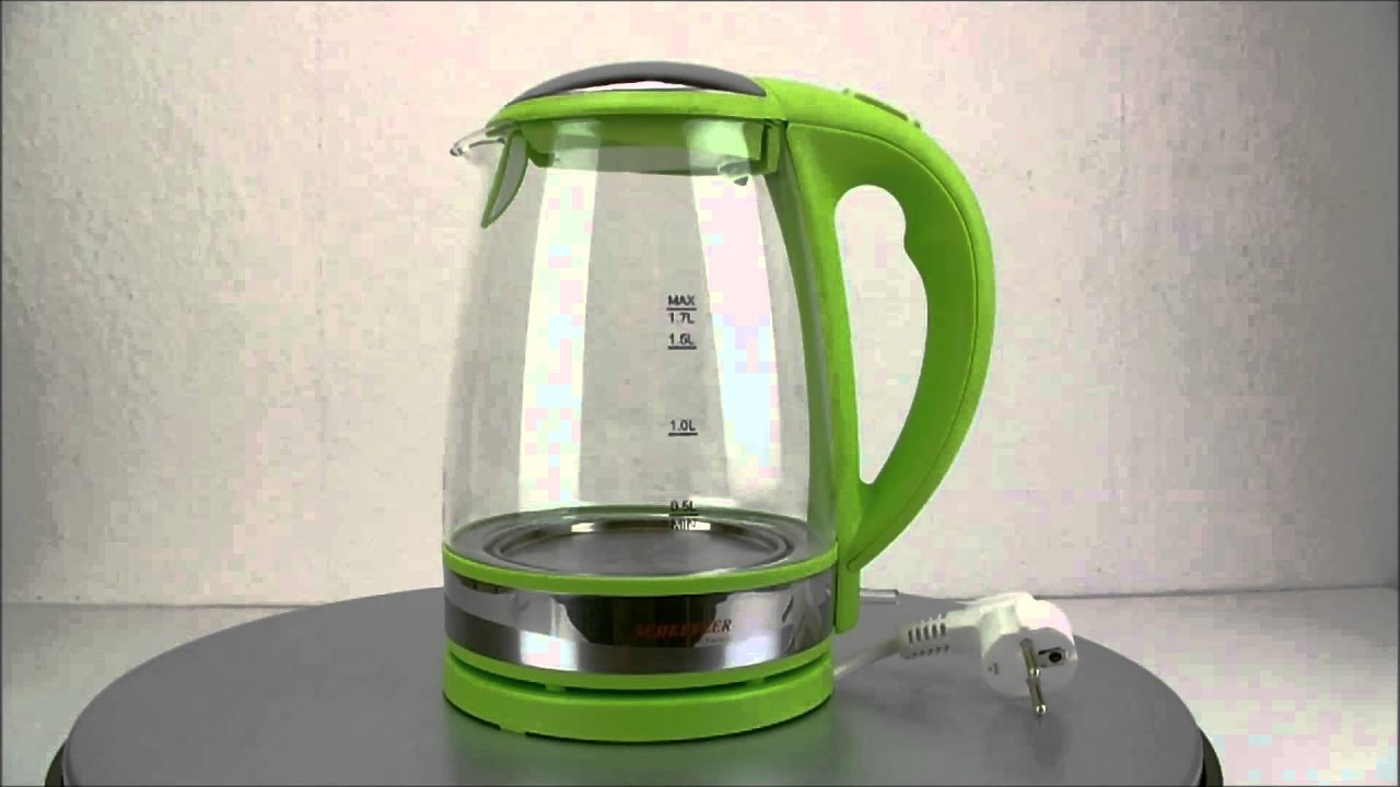 Alle 5 Farben - Wasserkocher mit LED und in Glas... 2200 Watt ... | {Wasserkocher 20}