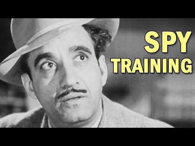 World War 2 Spy Training Film - Undercover - OSS Film - 1944