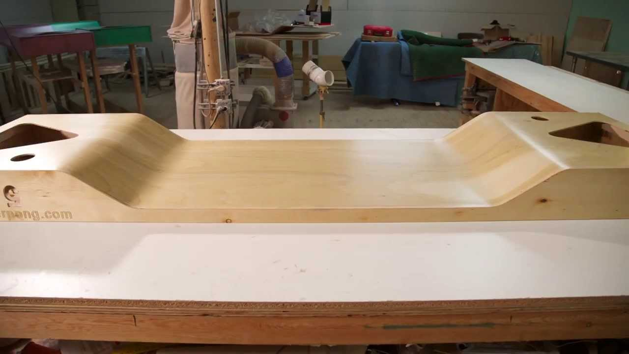 Homemade beer pong table - Homemade Beer Pong Table 7