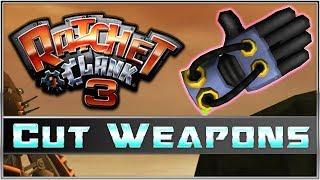 Ratchet & Clank 3 Cut Weapons