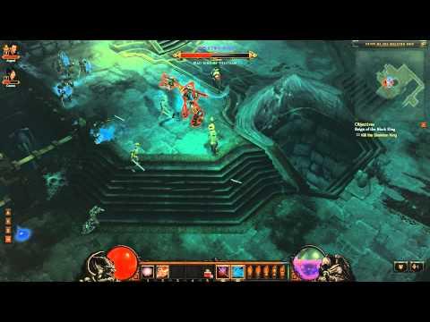 Let's Play Diablo 3 Beta! Diablo 3 Wizard Gameplay Commentary 5!