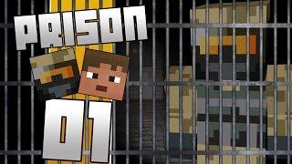 Dansk Minecraft - Prison: Zagi & Kova i fængsel! #01