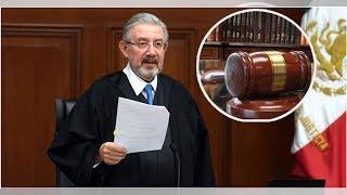 Presidente de la Suprema Corte rinde informe ante AMLO