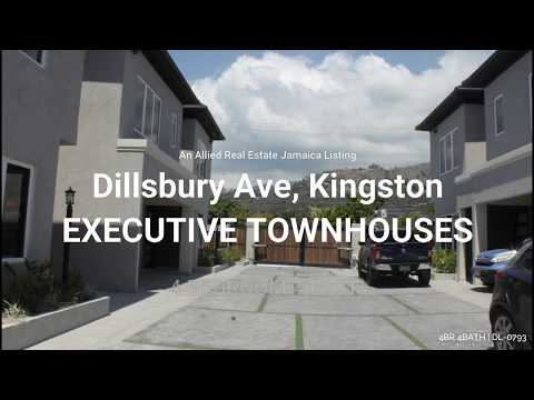 Executive Townhouse For Rent In Dillsbury Kingston, Jamaica