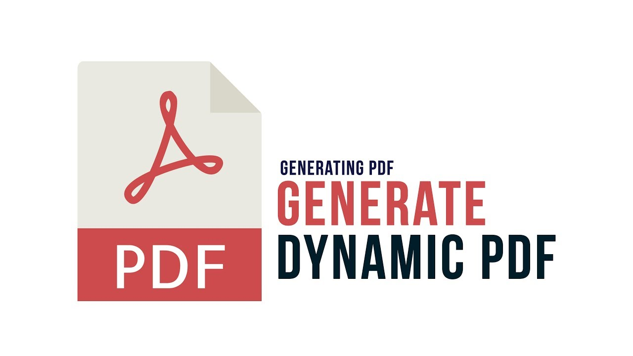Generate Dynamic PDF in PHP : Passing Dynamic Data - Part 4