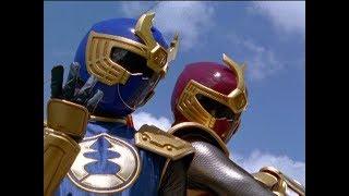 Power Rangers Ninja Storm - Power Rangers vs Thunder Rangers | Episode 10