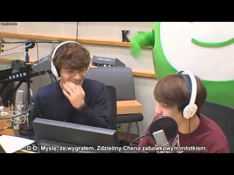 Kpop Planet Radio: D.O (Kyungsoo) & Chen game [PL] - polskie napisy, polish subs