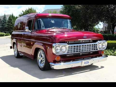 60 Chevy Truck >> 1958 Ford F100 Panel Truck For Sale - YouTube