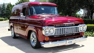 1958 Ford F100 Panel Truck For Sale
