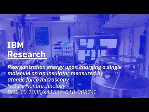 IBM Scientists Measure the Energy Levels of Single Molecules on Insulators