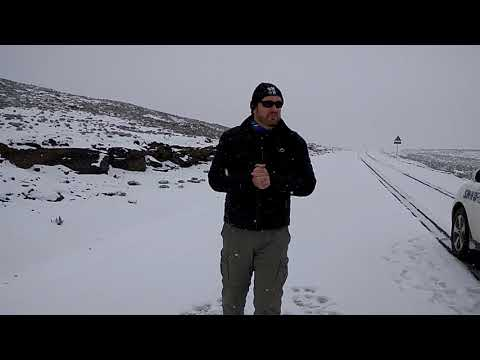 Snow in Lesotho 17 August 2017