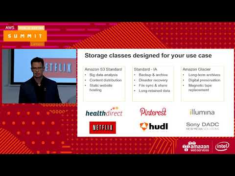 Deep Dive On Object Storage: Amazon S3 and Amazon Glacier - Part 1: Ben Thurgood