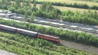 Поезд с 18 этажа в городе Мурино