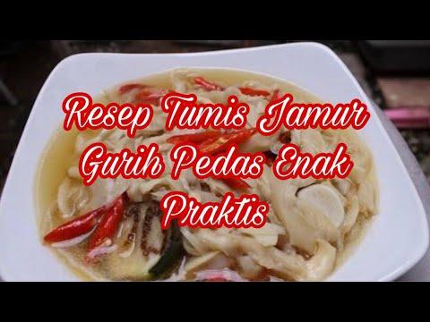 resep-tumis-jamur-gurih-pedas-enak-praktis