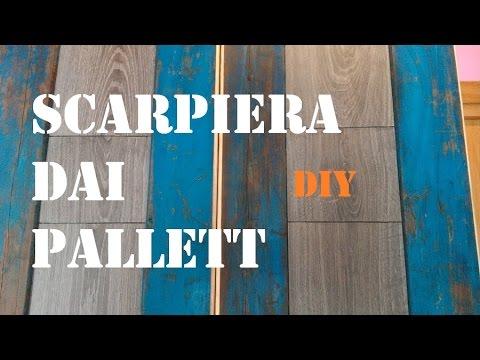 Scarpiera con pallett con utensili di base by paolobrada for Scarpiera con pallet