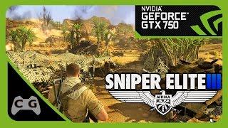 Sniper Elite 3 Gameplay GTX 750 Ultra Settings #17