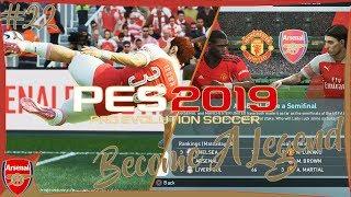 PES 2019 BAL #22 - UEFA Europa Semifinal Vs Manchester United [4K PS4 Pro]