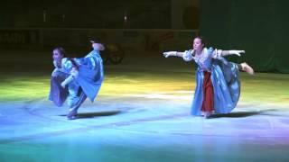 """Детский шоу-балет на льду """"Бешкетники"""" Холодное сердце 7 января 2016"""