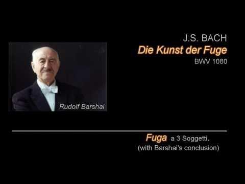 (22/22) Kunst der Fuge - Fuga a 3 Soggetti (No.19) (originally unfinished, w/ Barshai's conclusion)