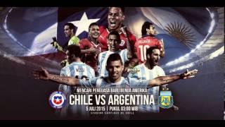 Prediksi Chile vs Argentina 5 Juli 2015 By 805BET.COM (FINAL)