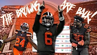 2018 Cleveland Browns | Offensive Hype Video | The Browns Are Back! | TiedsHD