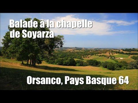 Chapelle de Soyarza depuis Orsanco, Pays Basque 64