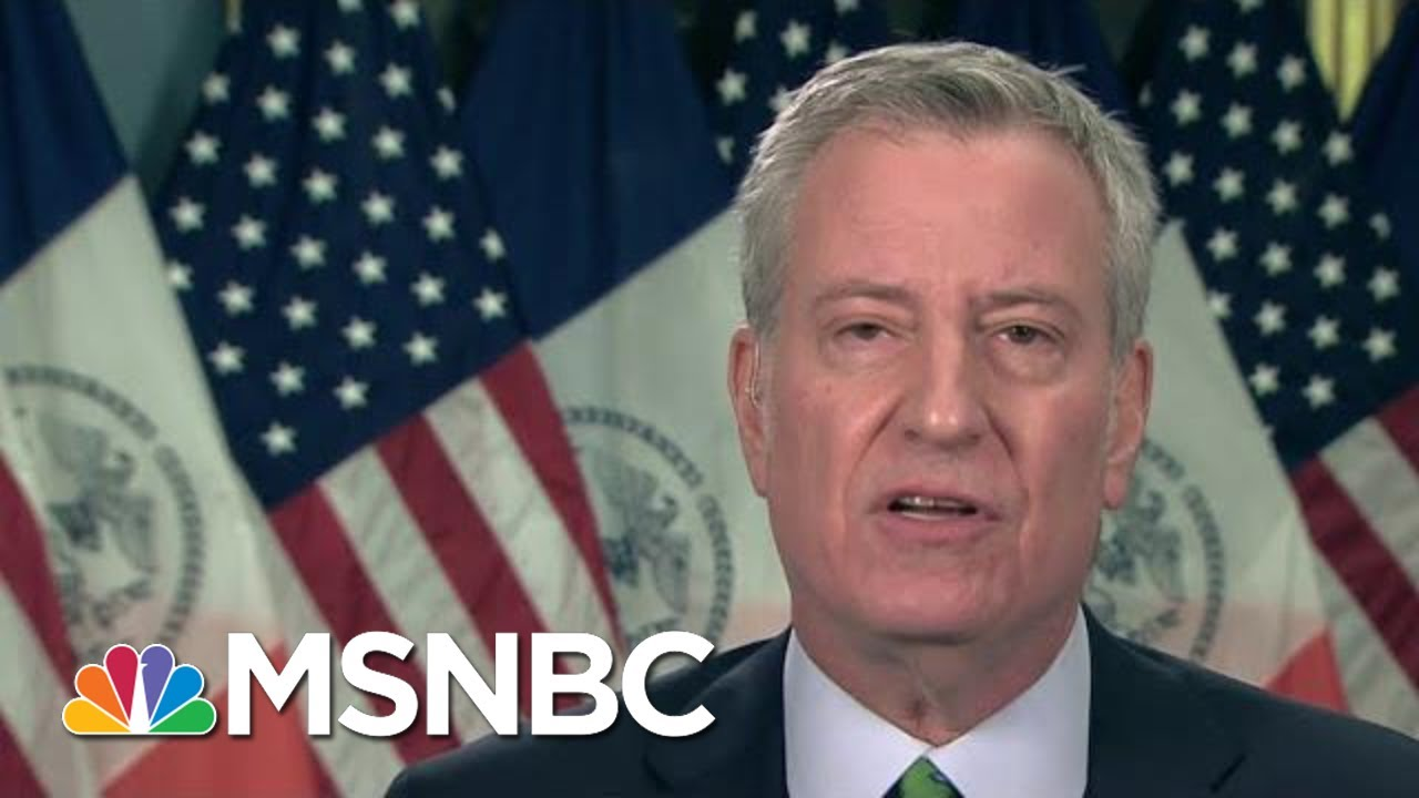 Download De Blasio: Vaccine Shortage Keeps NYC From Having Mass Vaccinations | Morning Joe | MSNBC