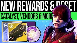 Destiny 2 | WEEKLY RESET & EXOTIC REWARDS! Schematic, OP Catalyst, Vendors & Eververse (21st May)