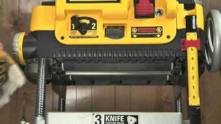 Tune Up Your Benchtop Thicknessing Planer